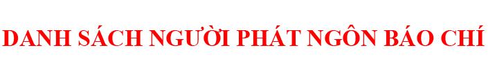 Phát ngôn BC