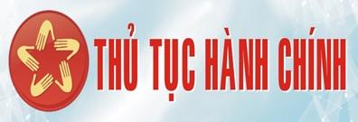 Thủ tục hành chính huyện Quan Sơn